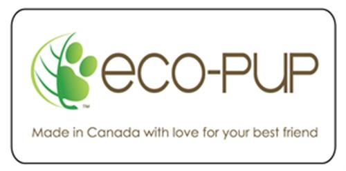 Eco-Pup door/window decal