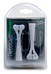 Petosan® Sonic Replacement Head, 2 pk