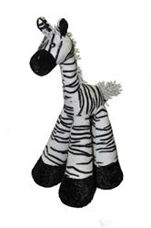 """Long Legs Zebra 12"""""""