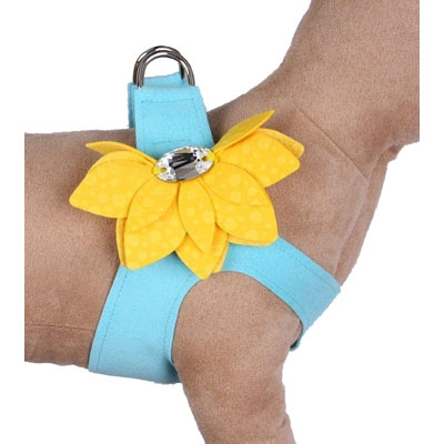 Tinkie's Pure & Simple Step-In Water Lily Harnesses - Two-Tone Colors