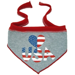 Heart USA Scarf
