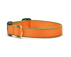 Tangerine and Pine Green - Green Market Collection Collars & Leads