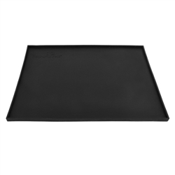 Platinum Pets Black Silicone Feeding Mat (Bowls Not Included)