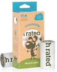 EARTH RATED COMP60 (4 rolls / pack) unscented