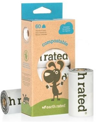 EARTH RATED COMP60 (4 rolls / pack)