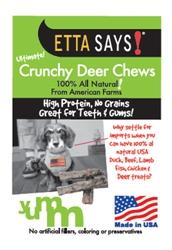 4 inch Crunchy Deer Chews bulk pound - SEE UPDATED LISTING