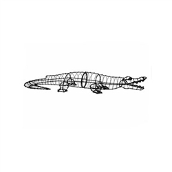 Topiary - Alligator (Frame Only) - SOLD OUT