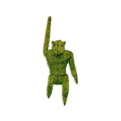 Topiary - Monkey (Hanging) (Mossed)