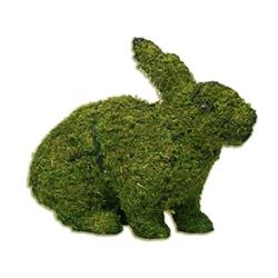 "Topiary - 13"" Rabbit (Hopping) (Small)"