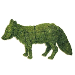 "Mossed Topiary - Fox (13""H x 23""L x 7""W)"
