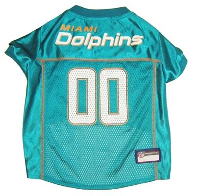 NFL Miami Dolphins Dog Jerseys