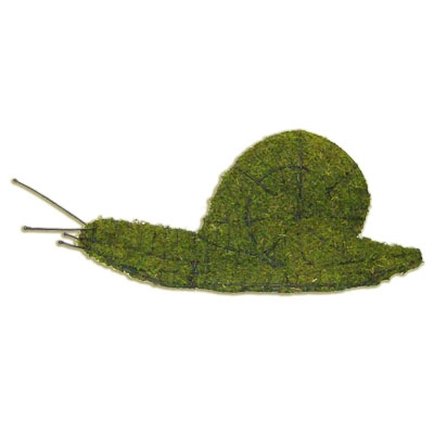 Mossed Topiary - Snail