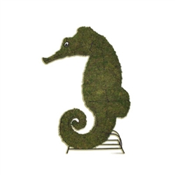 Mossed Topiary - Seahorse