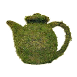 Mossed Topiary - Teapot (Small)