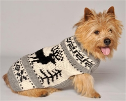 Reindeer Shawl  Sweater