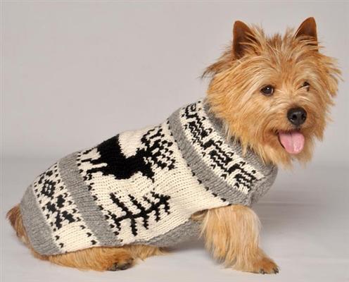 Reindeer Shawl  Sweater
