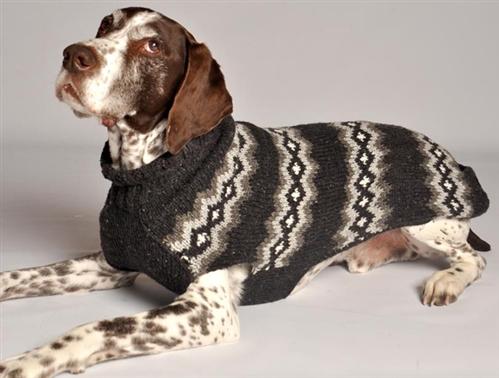 Grey Diamonds Sweater