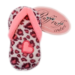 Pink Leopard Sandal by Ruff Ruff Couture®