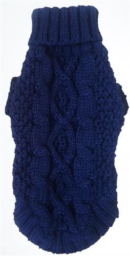 Irish Knit Sweater (10 colors) Blueberry (navy) - NEW.  Purple is discontinued and some sizes left.