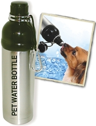 Pet Water Bottle - Stainless Steel (24 oz )  Case of 24