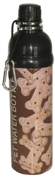 Pet Water Bottle - BONE (24 oz )  Case of 24