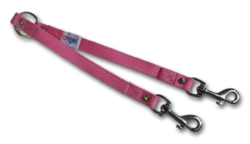 Leather 2-Dog Leash Coupler