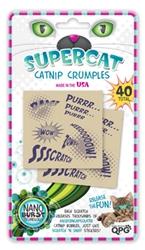 SuperCat Catnip Crumples – 40 Sheets per Pack