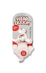Hear Doggy Flat Toy - RABBIT