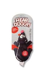 Hear Doggy Flat Toy - SKUNK