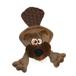 Hear Doggy™ Flatties - Brown Beaver
