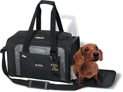 Sherpa Delta Medium Black Pet Carrier