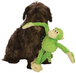 GoDog™ Mr. Monkey with Chew Guard™ - Lime Green