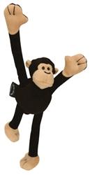 GoDog™ Crazy Tugz Monkey with Chew Guard™ - Black