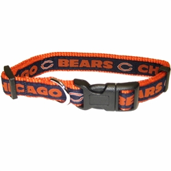 NFL Chicago Bears Dog Collar - Ribbon