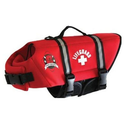 Neoprene Doggy Life Jacket - Red