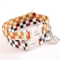 Contempo Checker Collar & Leash