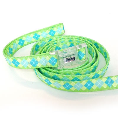 Contempo Argyle Collar & Leash