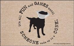 SALE - Fun And Games x Dog is Good® - Doormat