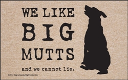 Big Mutts x Dog is Good® - Doormat