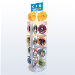 32-Hook Car Magnet DISPLAY ONLY + SHIPPING