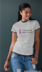 I Rescued My Best Friend - Pink Dog - 2-Pack of T-Shirts