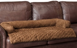 Solvit Sta-Put™ Bolstered style Furniture Protector - Cocoa