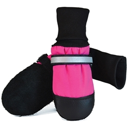 Original Fleece-Lined Muttluks - Pink  (set of 4)