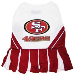 NFL San Francisco 49ers Cheerleader Dog Dress