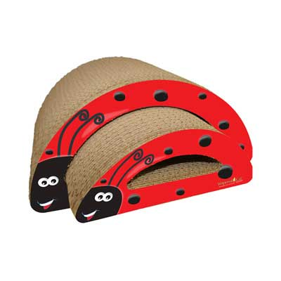 Scratch 'n Shapes Lady Bug (2-in-1) Scratcher