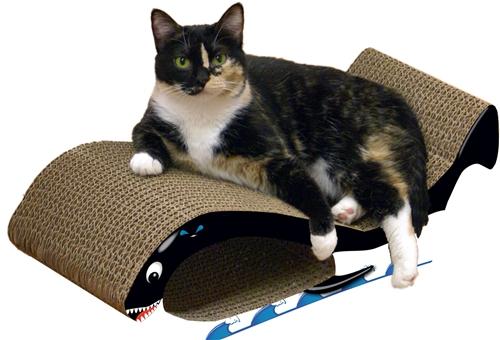 Scratch 'n Shapes Whale Scratcher
