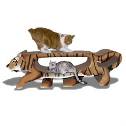 Scratch 'n Shapes GIANT Tiger Scratcher