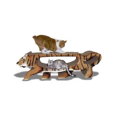 Scratch 'n Shapes GIANT Tiger Scratcher