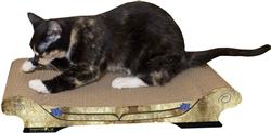 Scratch 'n Shapes Comfort Couch Cat Scratcher
