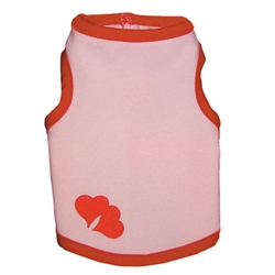 Lots of Love Pink Tank by Ruff Ruff Couture®